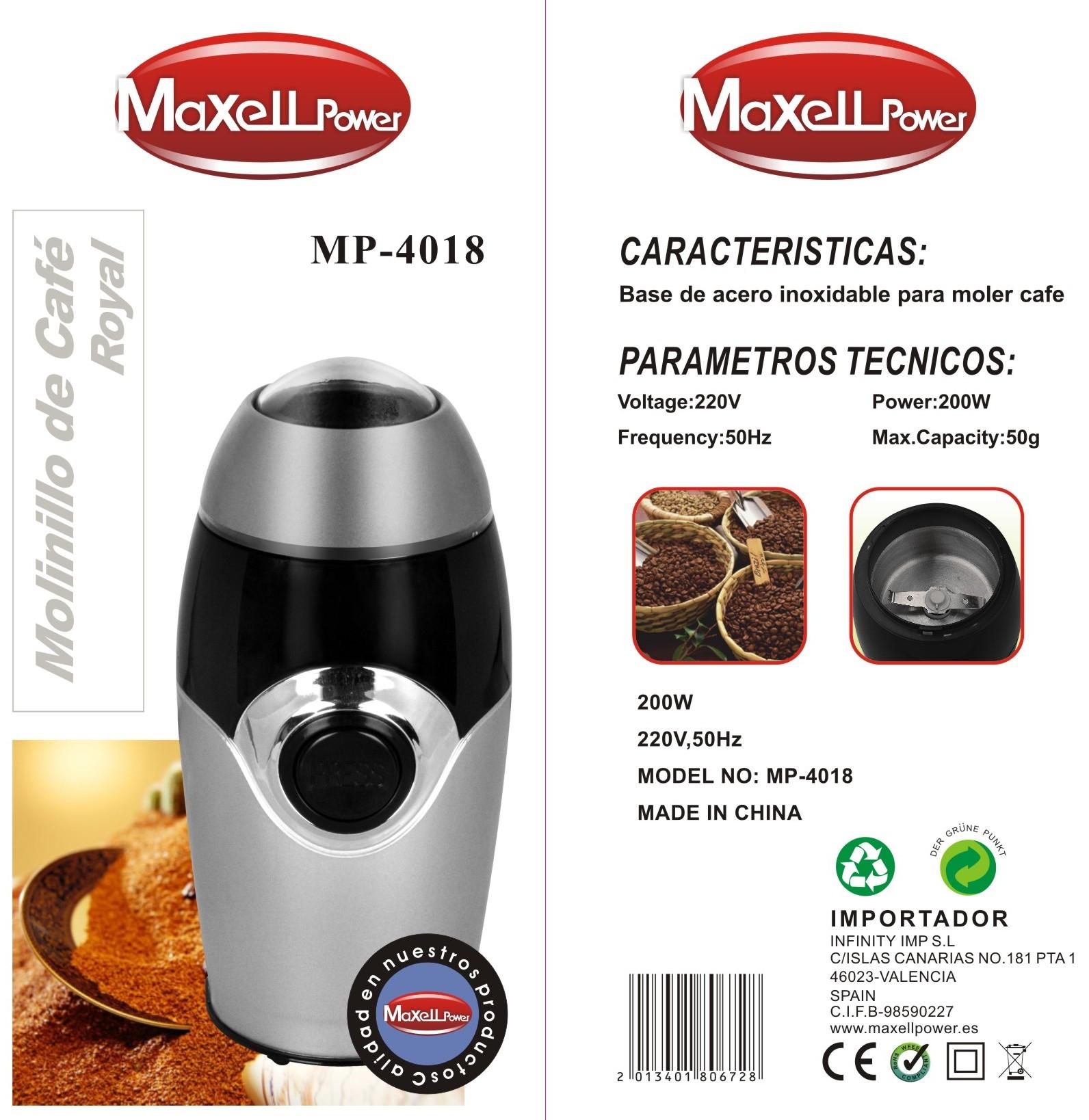 Molinillo MP4018